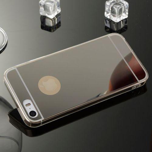 Slim Mirror Case Czarny   Etui dla Apple iPhone 4 / 4S - Czarny