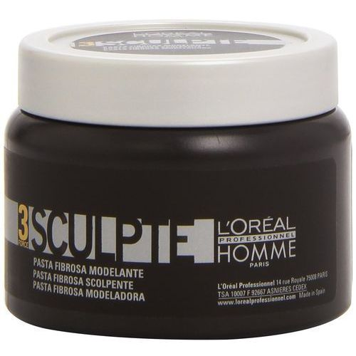 L'Oréal Professionnel Homme Styling modelujący krem do włosów medium (Sculpte Force 3) 150 ml, 3474630160897