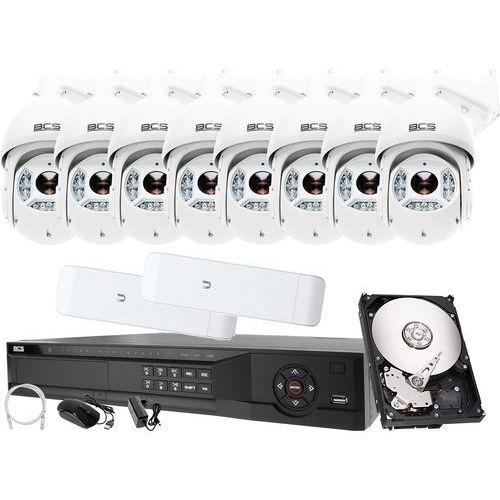 Rejestrator IP BCS BCS-NVR16045ME-II + 8x Kamera 2MPx BCS-SDIP5225-III + Akcesoria, ZM10060