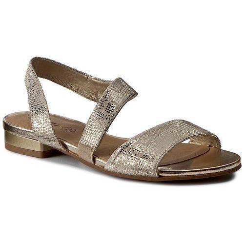Sandały QUAZI - 1233-12 Złoty, 37-39