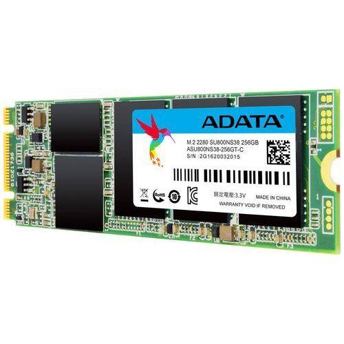 Adata SSD Ultimate SU800 256G M.2 560/520 MB/s 3D 8cm - DARMOWA DOSTAWA!!! (4712366969568)