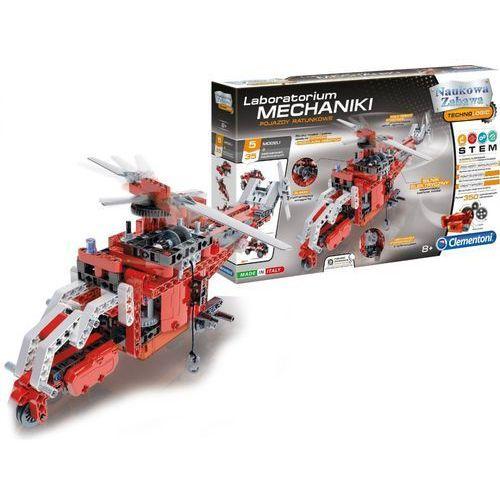 Zabawka naukowa CLEMENTONI Laboratorium Mechaniki - Pojazdy Ratunkowe, 12139