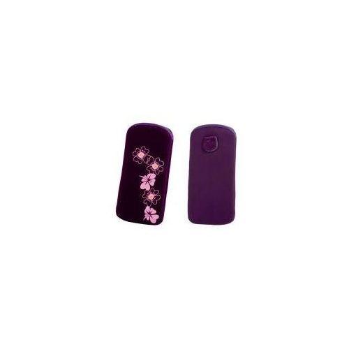 Etui FLEXI Kwiat Fiolet L Nokia N73