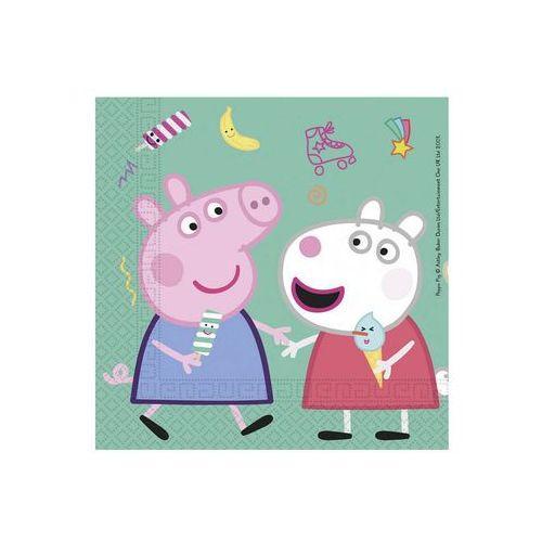 Procos disney Serwetki urodzinowe świnka peppa - 33 cm - 20 szt.
