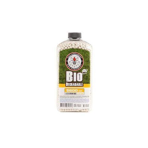 G&g armament Butelka kulek precyzyjnych bio g&g 0,25g (5600 kulek w butelce)