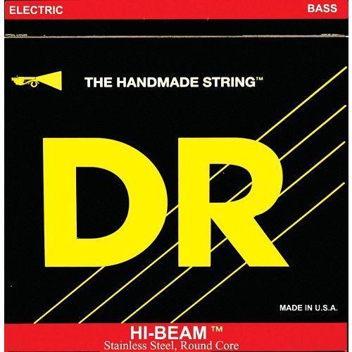 hi-beam - struny do gitary basowej, 4-string, light-light,.040-.095 marki Dr