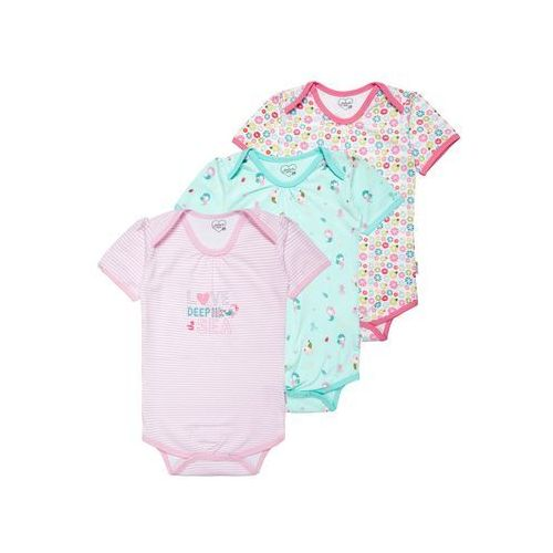 Gelati Kidswear MERMAID 3 PACK Body multicolor