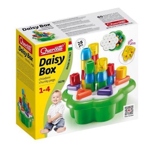 Układanka daisy box chunky pets, 28 elementów marki Quercetti