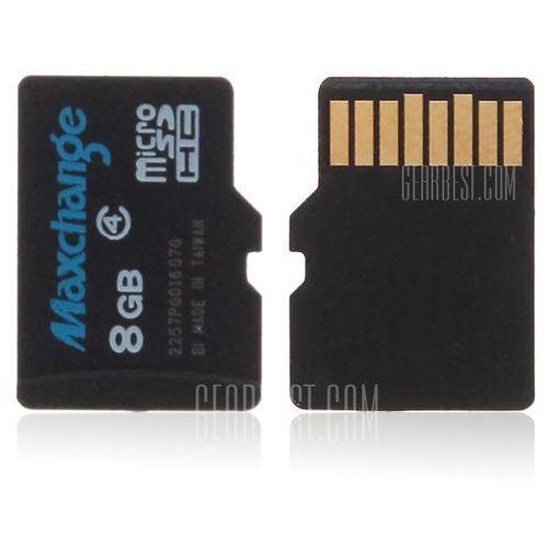 Gearbest Maxchange high quality c4 8gb micro sdhc/ sd transflash memory card