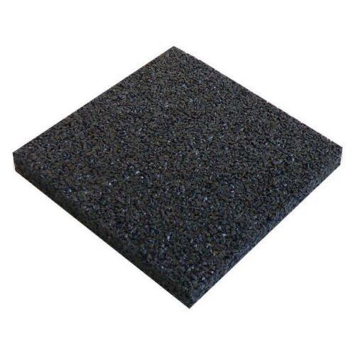 Podkładka z gumy prasowanej hd o grubości 10 mm. 10x100x100 marki Harpun a/s