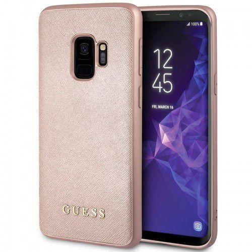 Guess Iridescent - Etui Samsung Galaxy S9 (różowe złoto), GUHCS9IGLRG