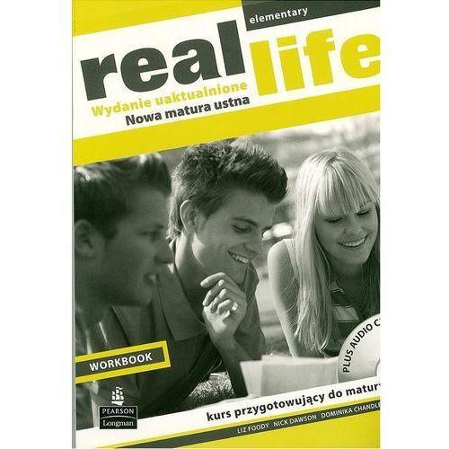 Real Life Elementary Workbook + CD (wydanie uaktualnione) Longman, oprawa miękka