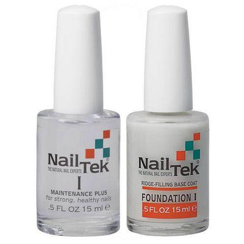 formuła i maintenance plus - 15 ml + nail tek foundation i - 15 ml zestaw marki Nail tek