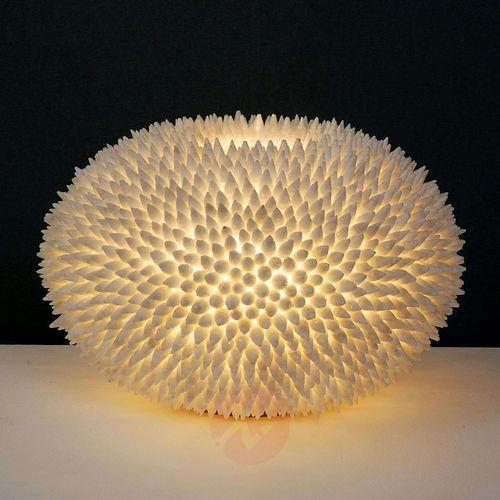 Holländer sirena bianco lampa stołowa biały, 1-punktowy - klasyczny - obszar wewnętrzny - bianco - czas dostawy: od 2-3 tygodni (4250151324654)