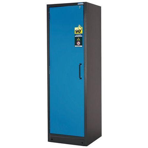Eurokraft Szafa na substancje niebezpieczne, odporna na działanie ognia, 1-drzwiowa, typ 9