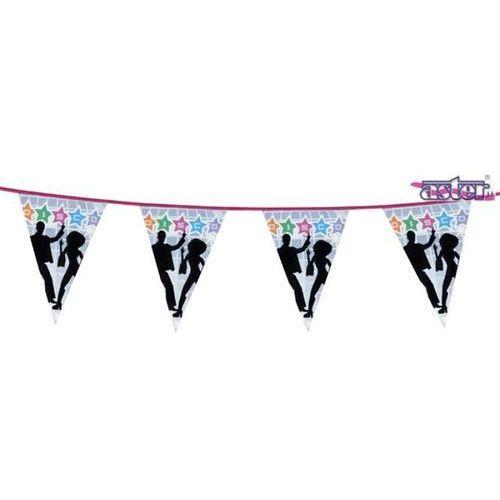 Banner disco flagi 6 m - przebrania i dodatki dla dorosłych