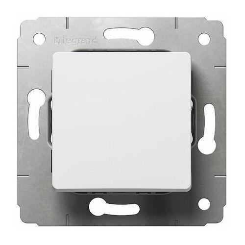 Przycisk światło/dzwonek Legrand Cariva biały, 694184