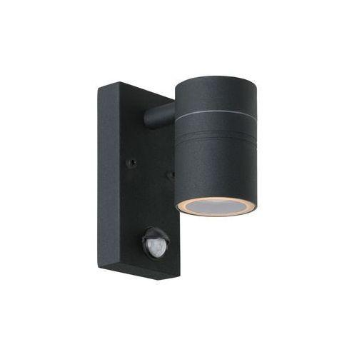 Lucide 14866/05/30 - led kinkiet zewnętrzny z czujnikiem arne-led 1xgu10/5w/230v (5411212143853)
