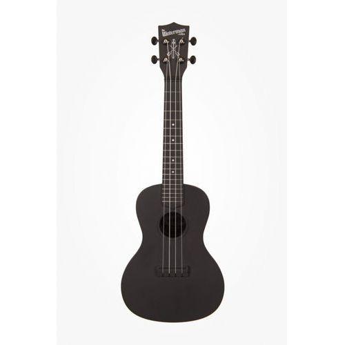 ka-cwb-bk waterman, ukulele koncertowe z pokrowcem, czarny marki Kala