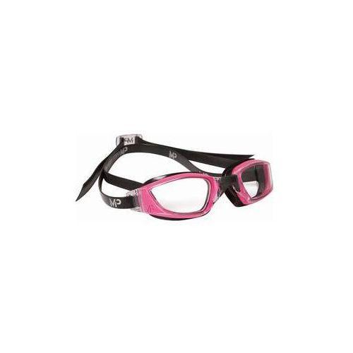 Michael phelps aqua sphere Damskie okulary pływackie xceed lady clear czarne/różowe