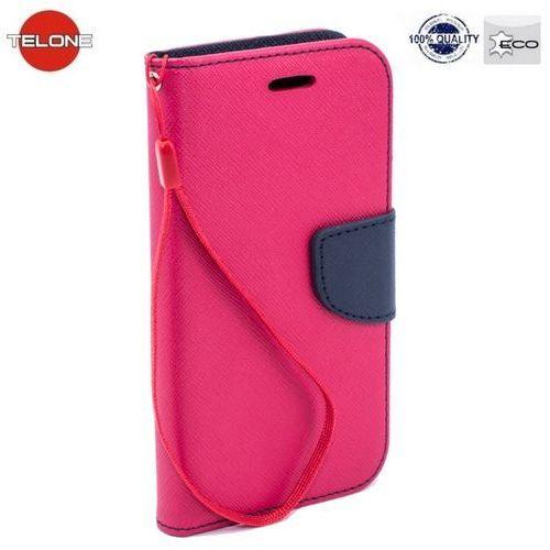 Futerał Fancy Huawei P8 Lite różowy, kolor Futerał