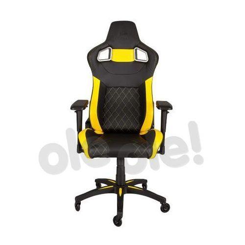 Corsair t1 race (czarno-żółty) - produkt w magazynie - szybka wysyłka!