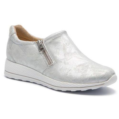 Sneakersy CAPRICE - 9-24702-22 Silver Shin.Su 926, kolor szary
