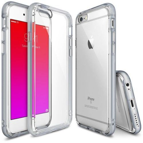 Rearth  ringke frame | obudowa ochronna + folia na ekran dla apple iphone 6 / 6s 4.7 - szary - szary (8809478828350)