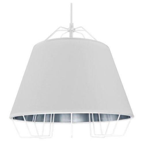 Polux Lampa wisząca 1x60w e27 il mio falun biały/srebrny 307255 /sanico