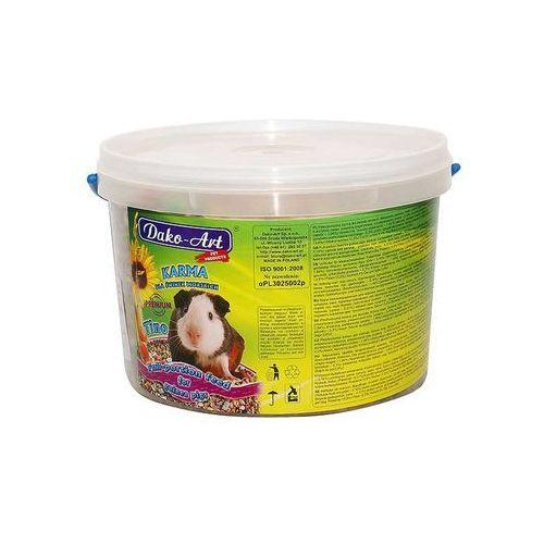 Dako-art  tino - pełnowartościowy pokarm dla świnek morskich 1kg