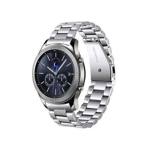 Bransoleta Stainless Steel pasek do Samsung Gear S3 srebrny - Srebrny