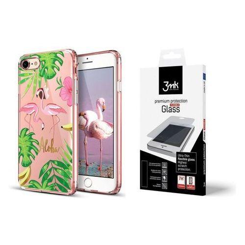 Esr Zestaw | etui art case flamingo + folia 3mk flexible - iphone 7 / 8