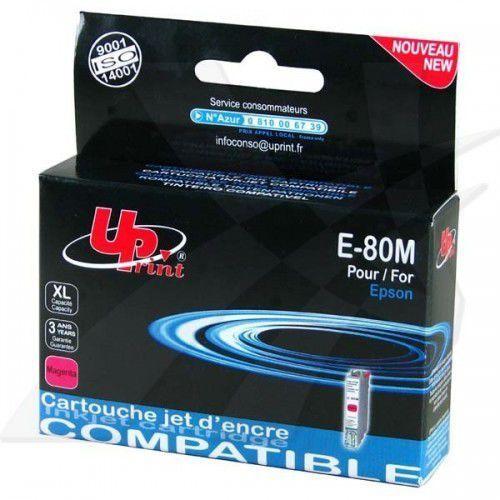 UPrint Tusz E-80M / C13T08034011 (Magenta) Darmowy odbiór w 20 miastach!, IEPB080340MU (6315302)