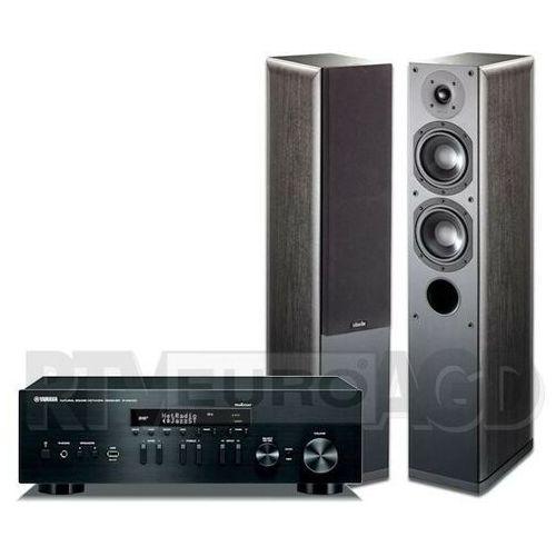 Yamaha musiccast r-n402d (czarny), indiana line nota 550 x (czarny dąb)