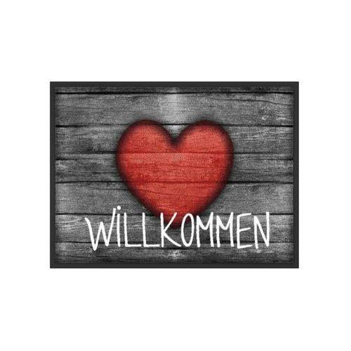 """Wycieraczka """"willkommen"""" szary marki Bonprix"""