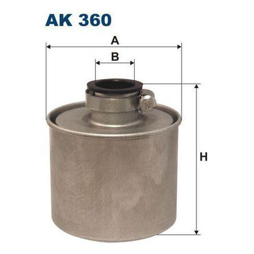 Filtr powietrza, kolektor dolotowy sprężarki FILTRON AK360, AK360