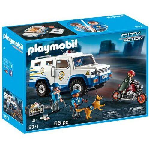 Playmobil CITY ACTION Transporter pieniędzy 9371