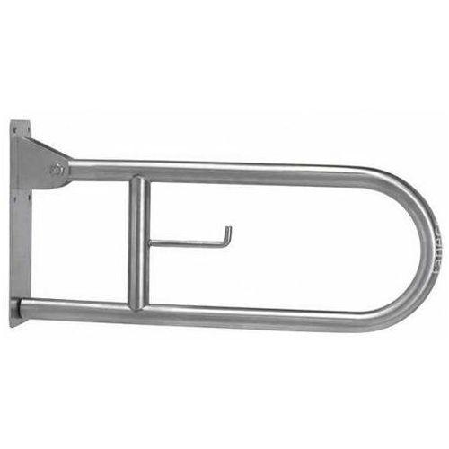 Poręcz uchylna łukowa dla niepełnosprawnych Faneco S32UUWC8P SN M 80 cm