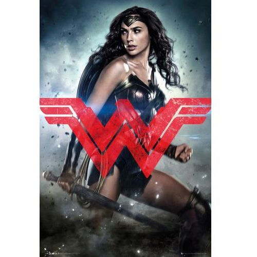 Gb Batman v superman wonder woman - plakat (5028486346257)