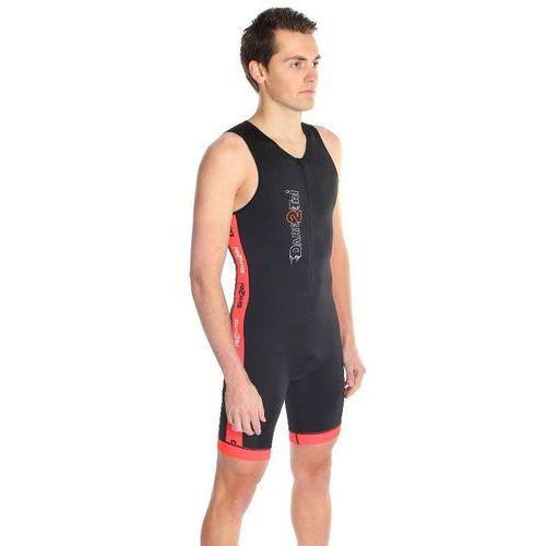 Dare2Tri Coldmax Mężczyźni czerwony/czarny XL 2018 Pianki do pływania