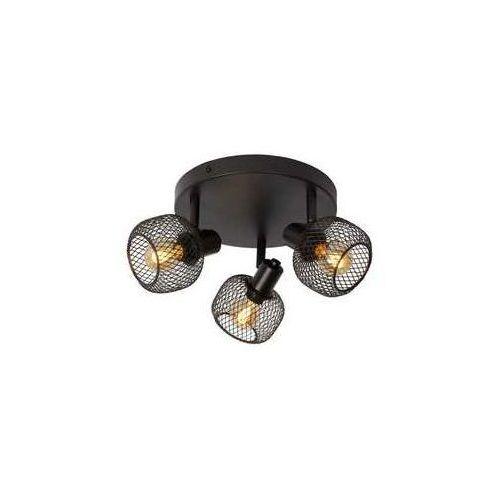 Lucide Maren 77978/13/30 plafon lampa sufitowa 3x40W E14 czarny (5411212771131)