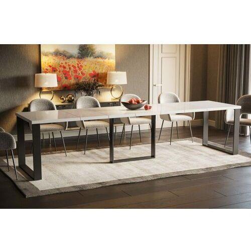 Endo Stół borys max rozkładany 130-330 biały połysk