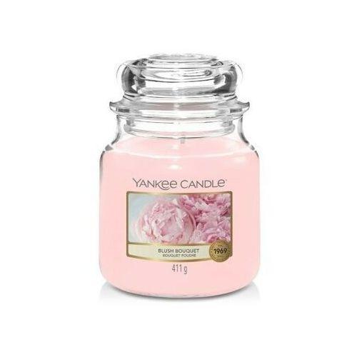Yankee candle Smakeup.pl świeca zapachowa średni słój blush bouquet 411g