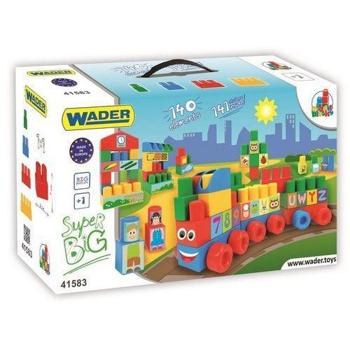 Wader Klocki blocks - zestaw super big 41583