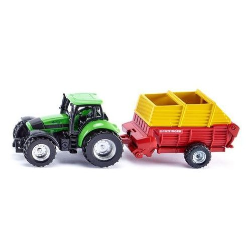 OKAZJA - Siku Traktor z przyczepą pottinger