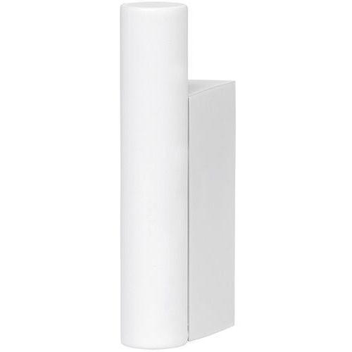 Biały wieszak ścienny na ręcznik blomus modo stal pokryta tytanem (b66268)
