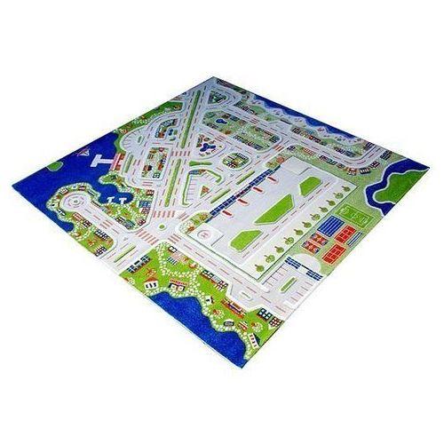 Dywan Miasto Portowe 3D 200 x 200 cm, 121MD034-200200