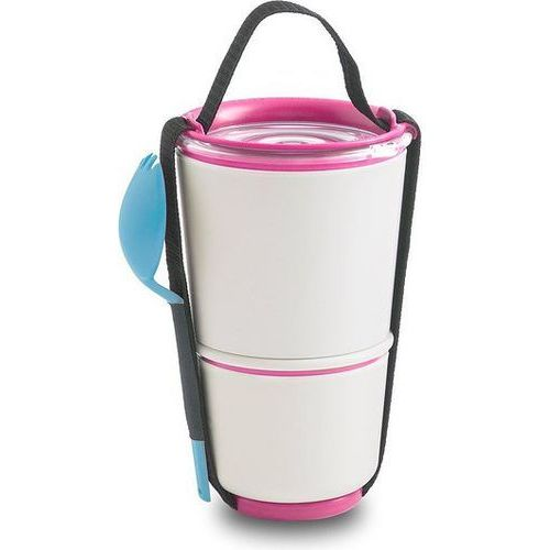 Black+blum Pojemnik na lunch lunch pot różowo-niebieski