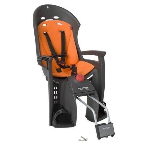 siesta fotelik dziecięcy szary/pomarańczowy mocowania fotelików dziecięcych marki Hamax