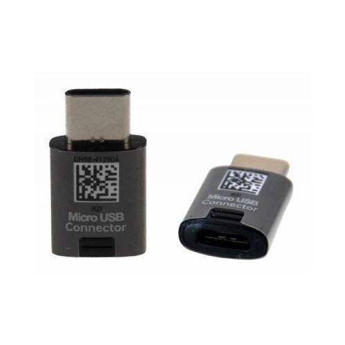 Adapter Samsung GH98-41290A micro usb na USB C typ C Czarny, GH98-41290A
